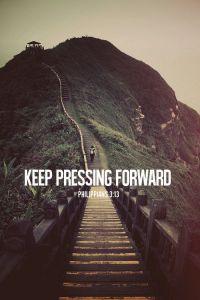 keep pressing